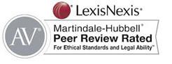 Lexis Nexis AV Rating Badge